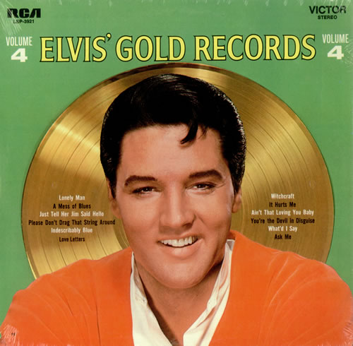 Elvis Presley - Elvis' Gold Records Vol 4